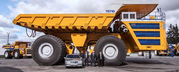 Povestea celui mai mare vehicul terestru din lume: camionul Belaz 75710