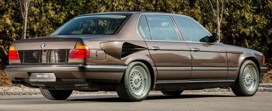 Povestea celui mai nebun BMW din istorie: Seria 7 cu motor V16 aspirat