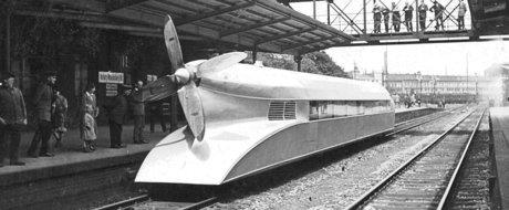 Povestea celui mai rapid tren pe benzina din lume: Schienenzeppelin cu motor BMW