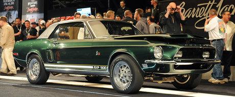 Povestea celui mai scump Ford Mustang din univers: 1968 Shelby EXP 500 Green Hornet