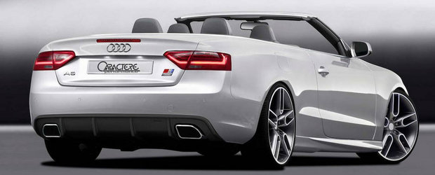 Povestea continua: Caractere modifica si noul Audi A5 Cabriolet