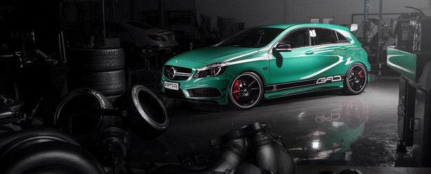 Povestea continua: Germanii ne ofera un nou Mercedes A45 AMG de 400+ CP