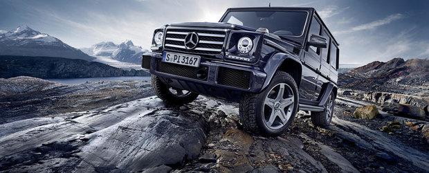 Povestea continua: Mercedes G-Class primeste un nou Facelift