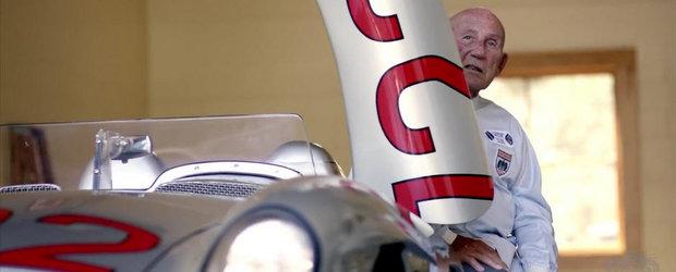 Povestea recordului reusit de Stirling Moss si Mercedes SLR la Mille Miglia 1955