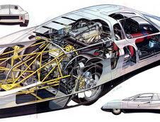 Povestea recordurilor mondiale cu Mercedes-Benz C111-IV, masina-experiment a anilor '70