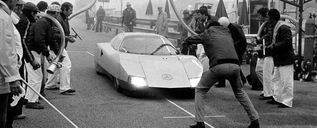 Povestea recordurilor mondiale cu Mercedes-Benz C111, masina-experiment a anilor '70
