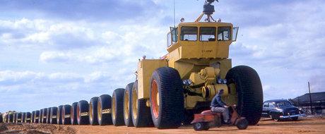 Povestea trenurilor de off-road LeTourneau, lungi de 180 de metri
