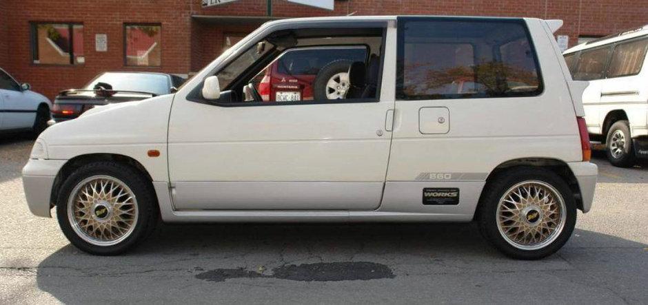 Povestea unui Kei Car: Suzuki Alto Works RS/R, un Tico turbo 4WD