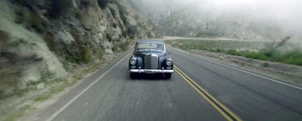 Povestea unui Mercedes Adenauer restaurat dupa 40 de ani de stat in garaj