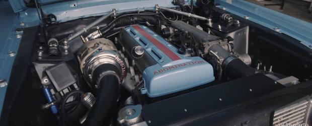 Povestea unui Mustang care a primit o noua sansa si un motor 2JZ