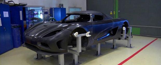 Povesti din fabrica Koenigsegg, Episodul 1 - Fibra de carbon