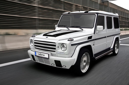 Power Without Limits: Mercedes G55 AMG by Vath