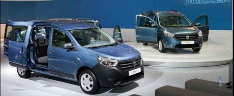Poze Dacia Dokker: primele imagini oficiale si reale cu noua Dacia
