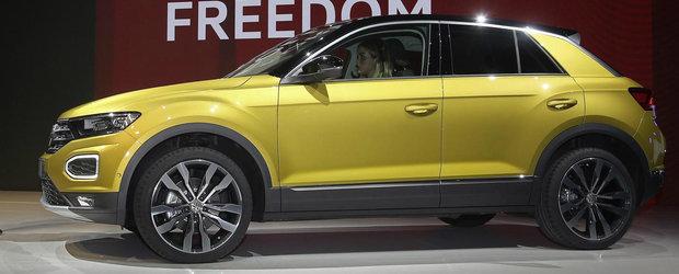 POZE de la Frankfurt cu cel mai ieftin SUV din gama Volkswagen. Concureaza cu Renault Captur si Nissan Qashqai