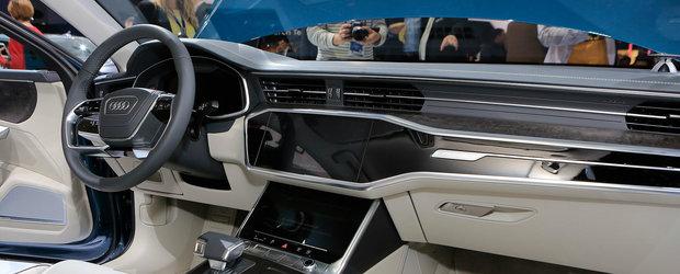 POZE de la Geneva cu noul AUDI A6. Modelul german asteapta nerabdator batalia cu Seria 5 si E-Class