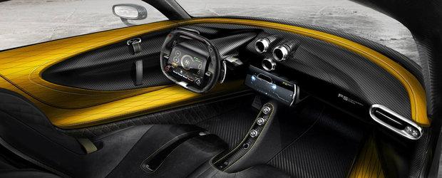 POZE de la interior cu masina care atinge 300 km/h in 10 secunde. Viteza maxima depaseste 480 km/h!