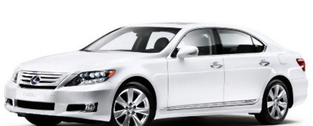 Poze oficiale cu noul sedan LS