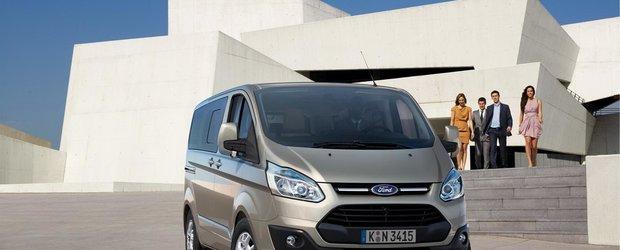 Poze oficiale cu versiunea de serie Ford Tourneo Custom