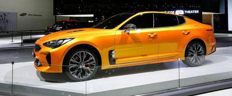 POZE REALE. Asa arata pe viu cea mai rapida masina din istoria companiei Kia