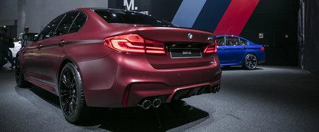 POZE REALE cu primul M5 4x4 din istorie. Uite cum arata pe viu super-sedanul BMW