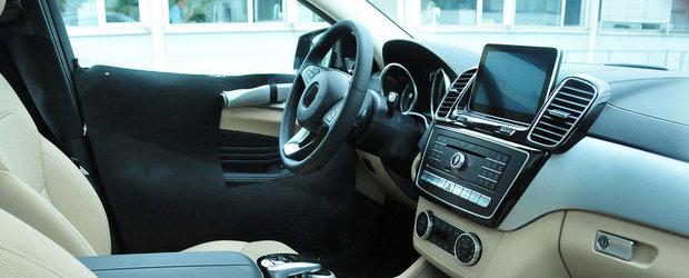 POZE SPION: ASA va arata interiorul noului Mercedes MLC!