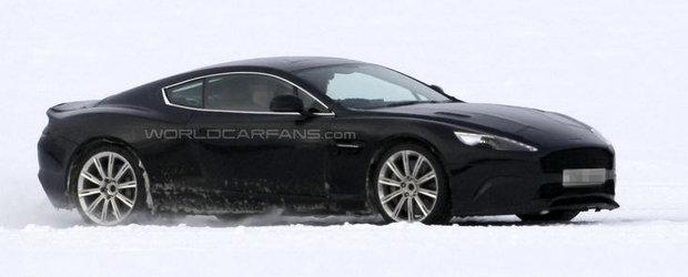 Poze Spion: Aston Martin testeaza succesorul modelului DB9
