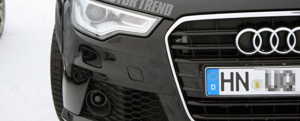 Poze Spion: Audi pregateste noua generatie a modelului RS6