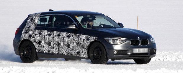 Poze Spion: BMW Seria 1 in trei usi