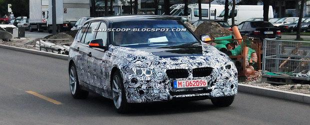 Poze spion: BMW Seria 3 break se pregateste de lansare