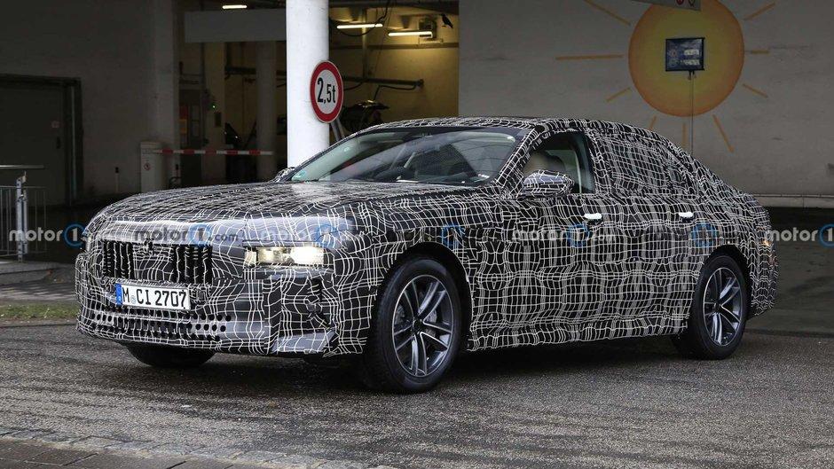 Poze spion BMW Seria 7