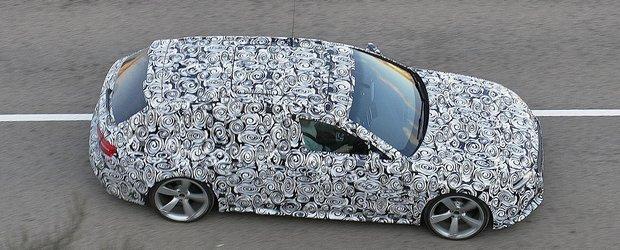 Poze spion cu Audi RS4 Avant