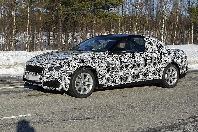 Poze spion cu BMW Seria 4 cabriolet 2013