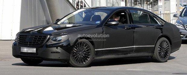 Poze spion cu Mercedes-Benz S-Class 2013