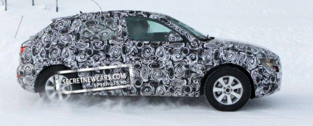 Poze spion cu noul Audi Q3