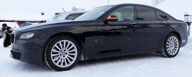Poze spion cu noul BMW Seria 7