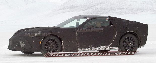 Poze spion cu viitorul Chevrolet Corvette