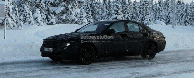 Poze spion cu viitorul Mercedes S-Class