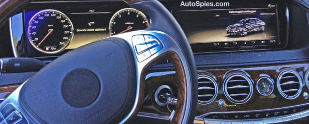 Poze Spion: Cum arata interiorul noului Mercedes S-Class