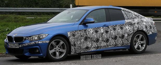 Poze Spion: Cum arata noul BMW Seria 4 Gran Coupe