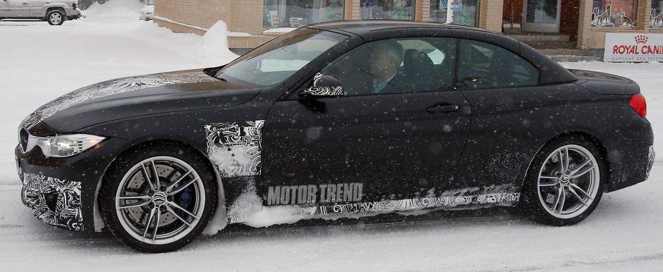 Poze Spion: Iata cum arata noul BMW M4 Convertible!