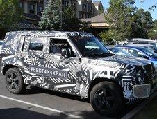 Poze spion Land Rover Defender