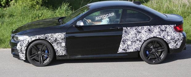 Poze Spion: Lansarea unui BMW M2 Coupe a devenit o certitudine!