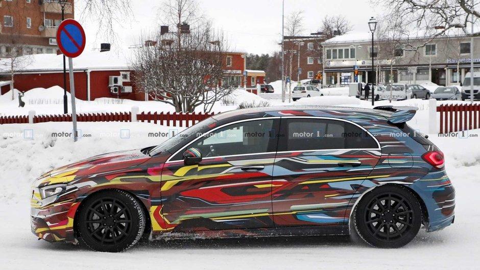 Poze spion Mercedes-AMG A45