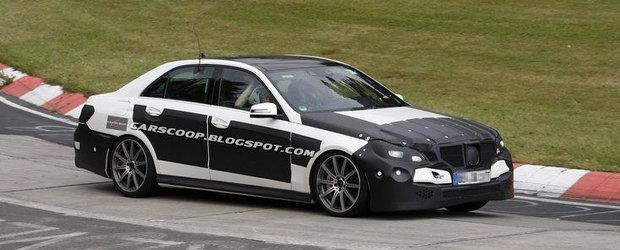 Poze Spion: Mercedes lucreaza la un nou E63 AMG