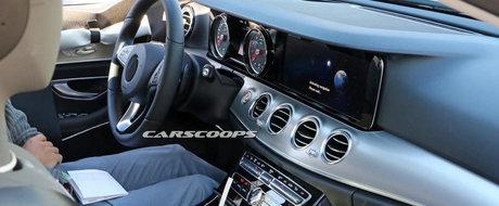 Poze Spion: Mercedes planuieste sa foloseasca interiorul de S si pe E-Class