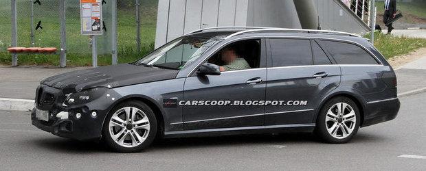 Poze Spion: Mercedes pregateste faceliftul Clasei E
