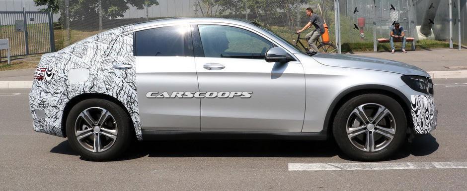 Poze Spion: Mercedes scoate in teste masina care va concura BMW-ul X4