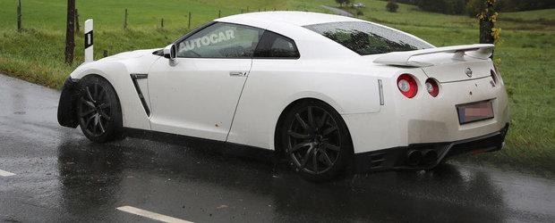 POZE SPION: Nissan pregateste un nou facelift pentru GT-R