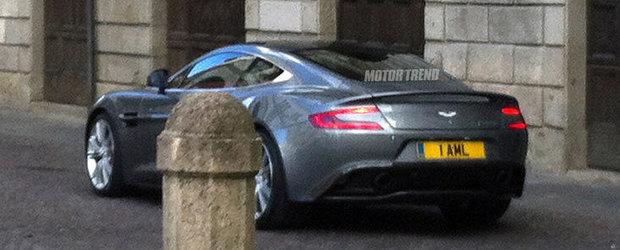 Poze Spion: Noul Aston Martin Vanquish ni se dezvaluie in toata splendoarea sa