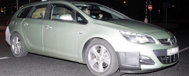 Poze Spion: Opel pregateste Astra Facelift